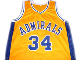Kevin Garnett #34 Admirals High School Basketball Jersey Yellow Any Size image 1
