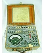 Vintage Automatic Electric Current Flow Test Set H-64645 W/Weston Model 269 - $78.16