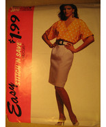UNCUT Pattern 1992 EASY McCall SIZE 16 18 20 Misses Top SKIRT 5916 [Z25] - $4.51