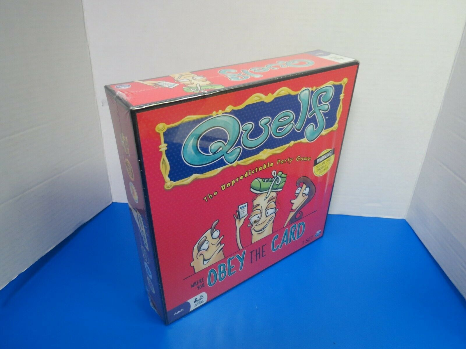 Primary image for QUELF The Unpredictable Adult Party Board Game New In Sealed Box 2012