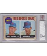 Nolan Ryan ROOKIE Card 1968 Topps #177 Graded BVG 3 VG - $220.00