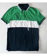 Tommy Hilfiger Mens Polo Striped Short Sleeve Shirt Size Medium NWT - $38.79