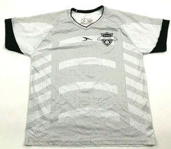 Score Soccer Jersey Youth Size Large YL White Dry Fit Shirt Short Sleeve... - $17.83