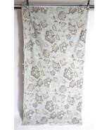 "HARBOR HOUSE Light Blue Floral Cotton Duvet Comforter Cover Blanket 83"" ... - $24.74"
