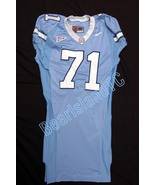 UNC Tarheel GAME USED WORN FOOTBALL JERSEY Sz48... - $99.00