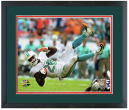 Lamar Miller 2014 Miami Dolphins - 11 x14 Matted/Framed Photo - $42.95