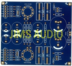 Bal/unbal input tube preamplifier stereo PCB ! - $17.60