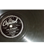 "Jo Stafford 10"" 78 #20049 Capitol Plays well; Over the Rainbow; Walkin' ... - $5.99"