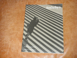 Sotheby's Photographs NY Auction Catalog of 180 pages from Sept 2014 NF - $11.00