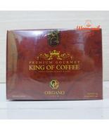 12 box ORGANO GOLD 100% ORGANIC GANODERMA GOURMET KING OF COFFEE FREE SHIPPING - $263.34