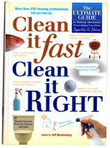 Clean if Fast, Clean it Right (Hardcover) The Ultimate Guide to Sparkle ... - $8.40