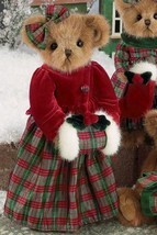 "Bearington Bears ""Harper Holiday""  14"" Collectible Bear- Sku #173122 - NWT- 2010 - $39.99"