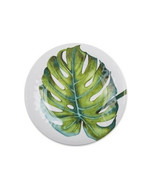 New Shady 4 Piece Palms Melamine Plates Cereal Bowl OR Salad Plate - $29.99