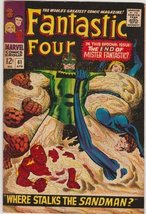 Fantastic Four #61 Silver Age Marvel Comic [Comic] by Stan Lee; Jack Kirby - $19.59