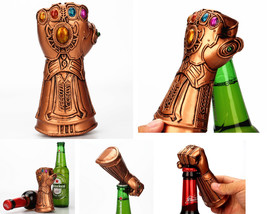 Fist Corkscrew Gauntlet Gloves Creative Retro Beer Bottle With Energy Gems - $18.70