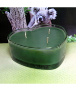 Eucalyptus  Heart Container Candle - $12.50