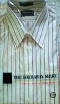 Men's Dress Shirt Long Sleeve Dress Shirt By Hathaway  (size 16 Sleve 34) - $12.95