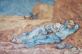 "VAN GOGH ""THE AFTERNOON"" HARVEY HUTTER & CO. ART PRINT - $74.48"