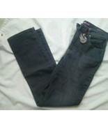 Gloria Vanderbilt Black Jeans Size 6 Stretch classic Fit Amanda Avg Span... - $29.39