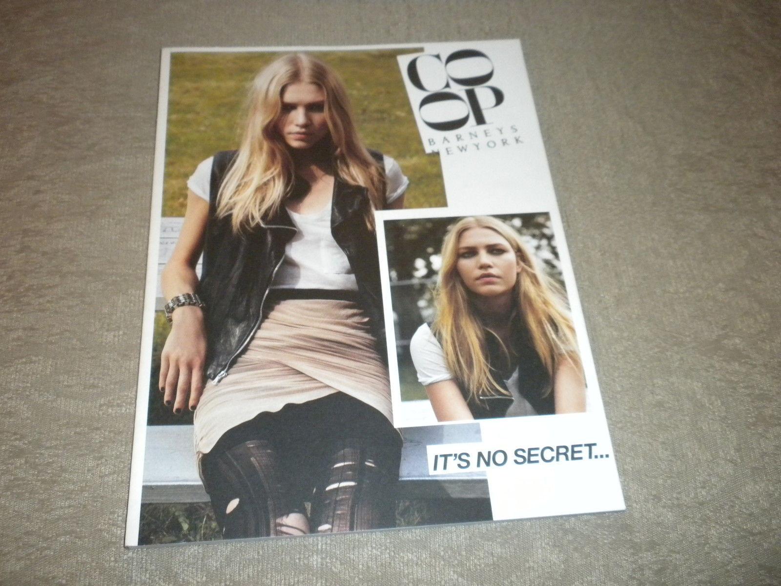 Barneys New York Fall  2008 Co-op It's No Secret Fashion Photo Catalog 53 pgs