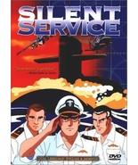 The Silent Service; Japan animation VHS 1998 US Manga: nuclear submarines - $11.87