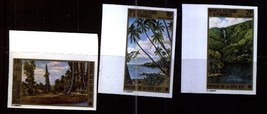 NEW CALEDONIA 1973 TREES IMPERF NATURE FOREST LUMBER WOOD 3704-7 - $11.88