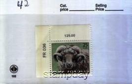 FAROE ISLANDS 1979 #42 RAM MNH ANIMALS  1391-5 - $3.51