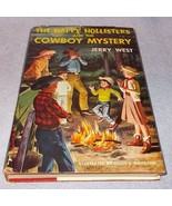 The Happy Hollisters Series Book Cowboy Mystery 1961 H20 - $6.95