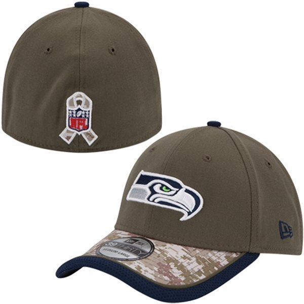 501a8c80d Seahat1. Seahat1. Previous. SEATTLE SEAHAWKS SALUTE TO SERVICE SIDELINE HAT  NEW ERA SMALL   MEDIUM NEW