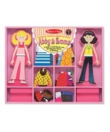 Abby & Emma Magnetic Dress-Up Set by Melissa and Doug - $20.00