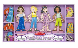 Best Friends Forever! Magnetic Dress Up by Melissa and Doug - $30.00