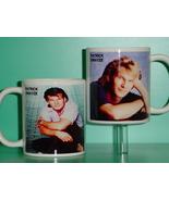 Patrick Swayze 2 Photo Designer Collectible Mug - $14.95