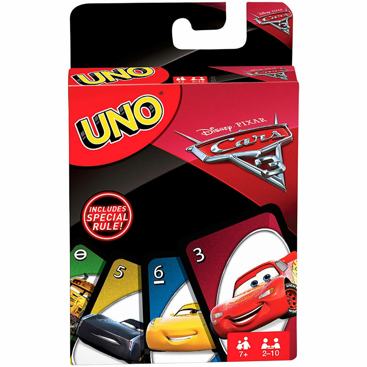 UNO Disney Cars 3 Edition