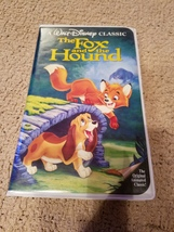 Disney's The Fox and the Hound Black Diamond VHS tape - $650.00