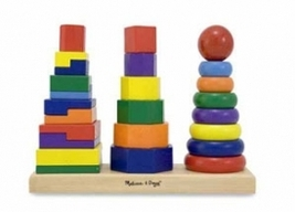 Geometric Stacker Toddler Toy by Melissa and Doug - $17.00