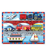 Vehicles Chunky Puzzle by Melissa and Doug - $10.00