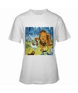 Wizard of Oz Lion Womens White T-Shirt S,M,L,XL,2XL - $14.07