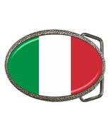 Italy Flag Belt Buckle Italian - $7.52