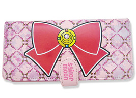 Sailor Moon Bow Hinged Style Wallet GE81503 *NEW* - $19.99