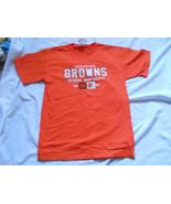 Cleveland Browns Dennis Northcutt WR Orange T Shirt NFL Players No 86 NE... - $16.14