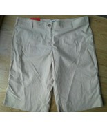 Ladies WATERPROOF Garment Co Shorts Size 16 Khaki Beige Camping Hiking S... - $22.53