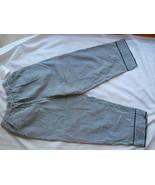 Dressbarn Ladies Capri Pants Slacks Black White Check Size S Cotton Pock... - $16.65