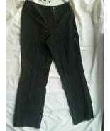 Ladies Dress Zuma Pants Size 12 Black Stretch Grace Dane Lewis low rise ... - $29.39