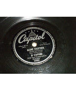 "Jo Stafford 10"" 78 RPM #20052 Capitol Plays well; Alone Together; Boy Ne... - $5.99"