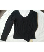 My Michelle Ladies Stretch Shirt Size m Scoup Neck Low in back 3/4 Sleev... - $18.99