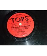 """Bud Roman 4 hits 10"""" 78 TOPS #R 245-49 Papa Loves Mambo; Oop Shoop Plays... - $9.99"""
