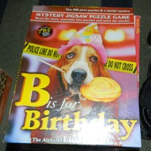 BEPUZZLED B IS FOR BIRTHDAY PUZZLE GAME SEALED - $16.00