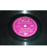 "Benny Goodman w Peggy Lee 10"" 78 OKEH 6606 Zoot Suit; MyLittle Cousin Pl... - $7.99"