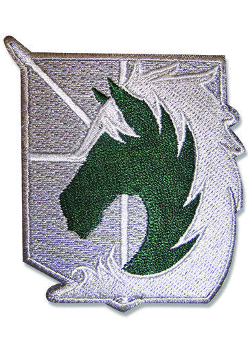 Primary image for Attack on Titan Military Police Iron on Patch GE44713 *NEW*