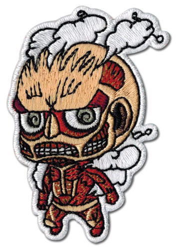 Primary image for Attack on Titan SD Colossal Titan Iron on Patch GE44795 *NEW*
